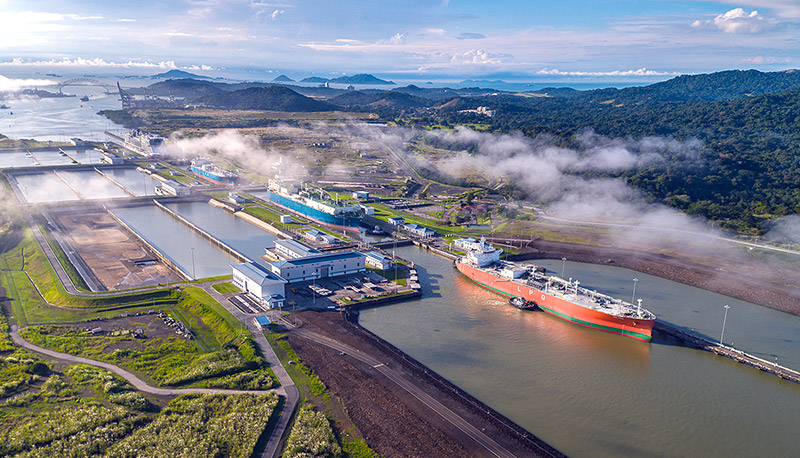 El efecto dominó del clima y el comercio - El Faro - Canal de Panamá