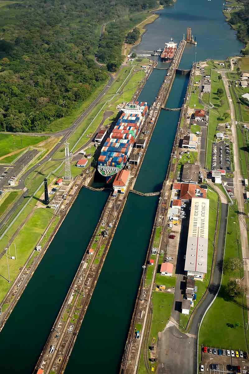 Canal de Panamá conecta al mundo