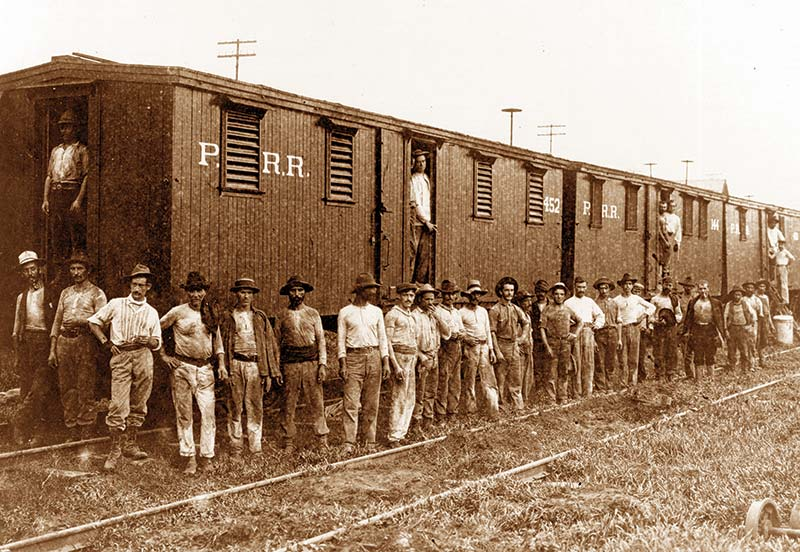 Los gallegos en la construcción del Canal de Panamá