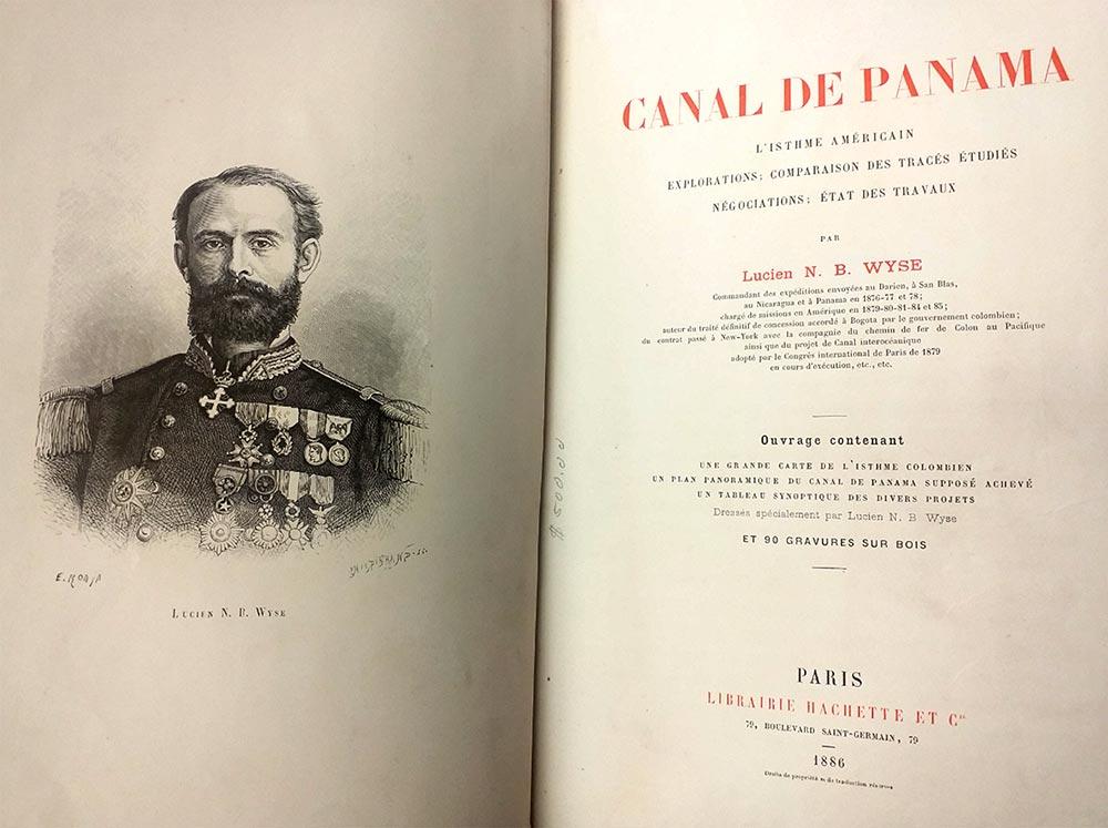 Libro Le Canal de Panamá
