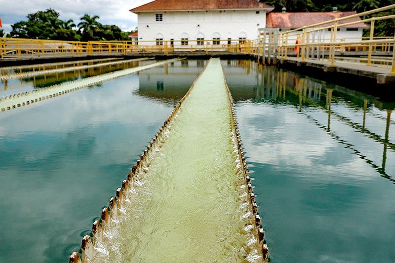 Potabilizadora de Miraflores - Canal de Panamá