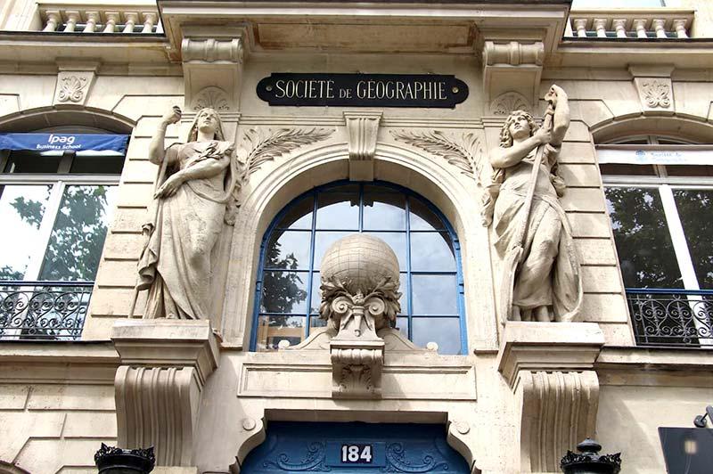 Sociedad Geográfica de París, Francia