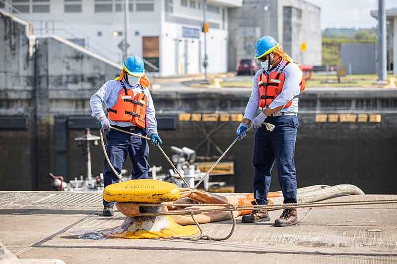 Trabajadores del Canal de Panamá